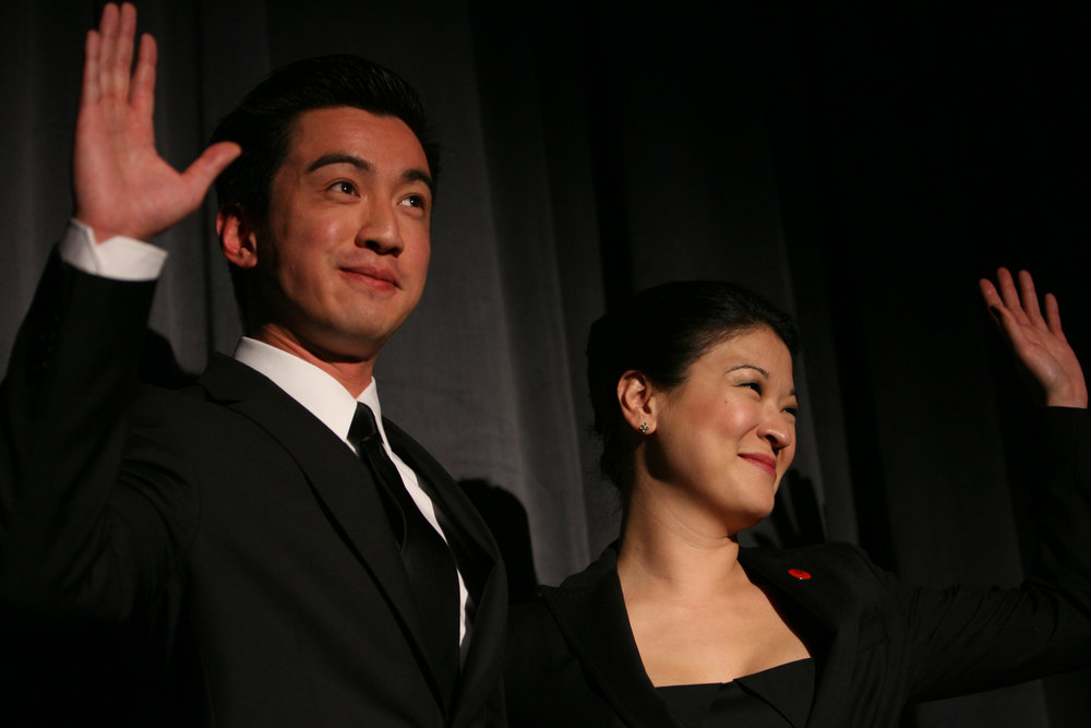Johnny Wu and Jennifer Lim. Photo by Eric Y. Exit for the Goodman Theatre, 2011