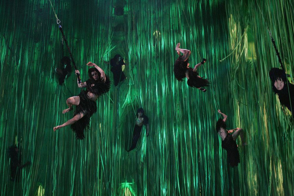 The Cast of TARZAN®_ photo by Joan Marcus. ©DISNEY 2006.
