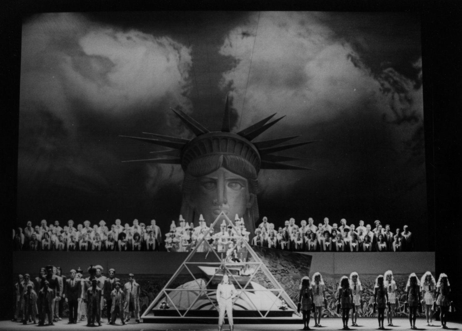 The Voyage at the Metropolitan Opera in New York City. Photo by Winnie Klotz.
