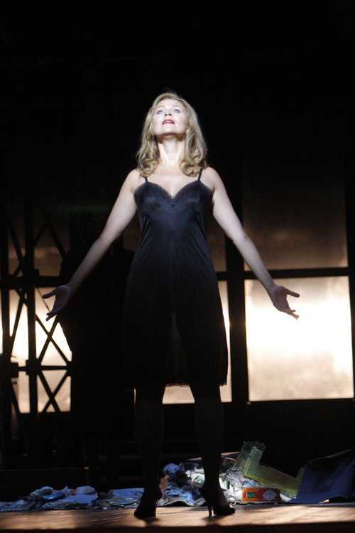 Ruxandra Donose as Veronica Quaife in The Fly. Photo by Robert Millard  for the Los Angeles Opera, 2008