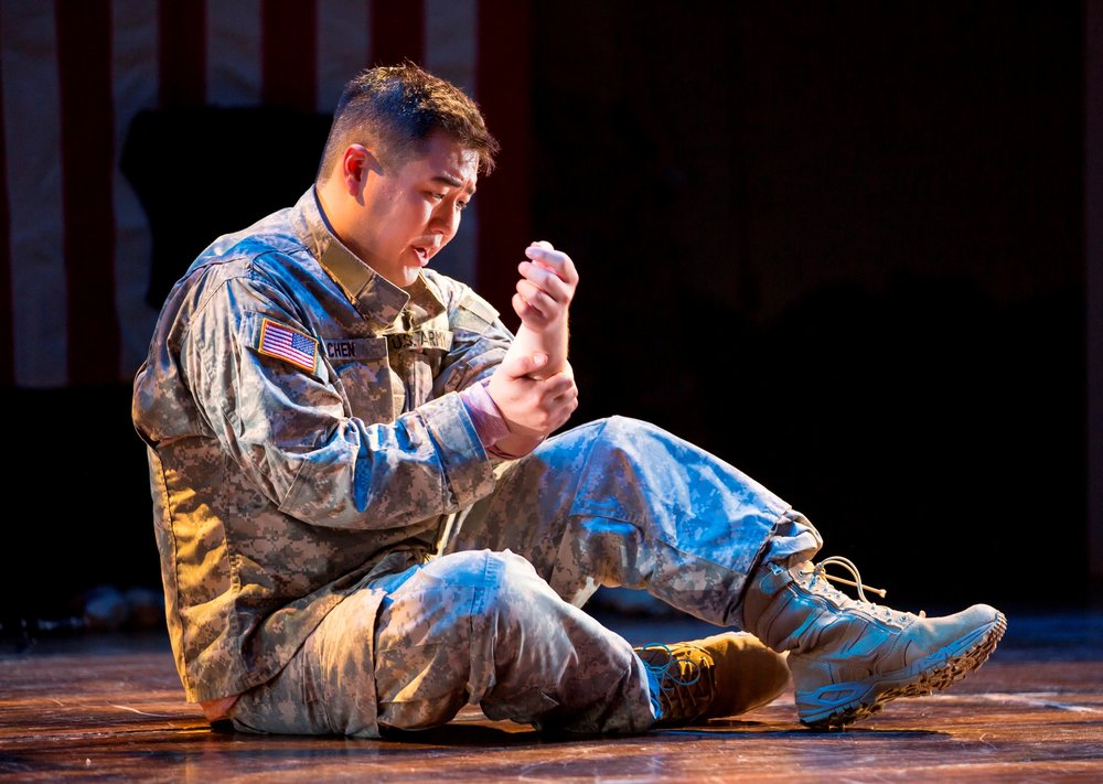Andrew Stenson as Danny Chen. Photo by Scott Suchman for the Washington National Opera, 2015