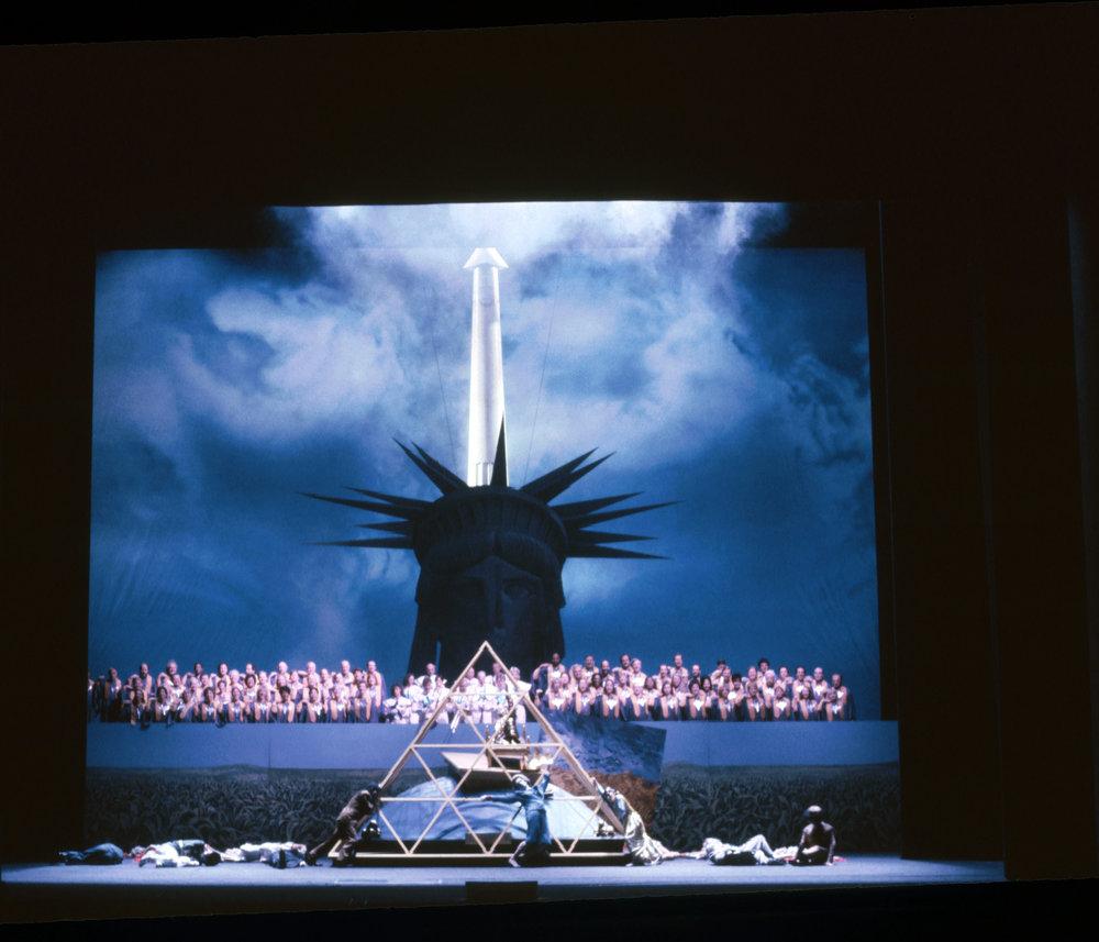 《航行记》, 纽约大都会歌剧院。图片来源:Winnie Klotz.