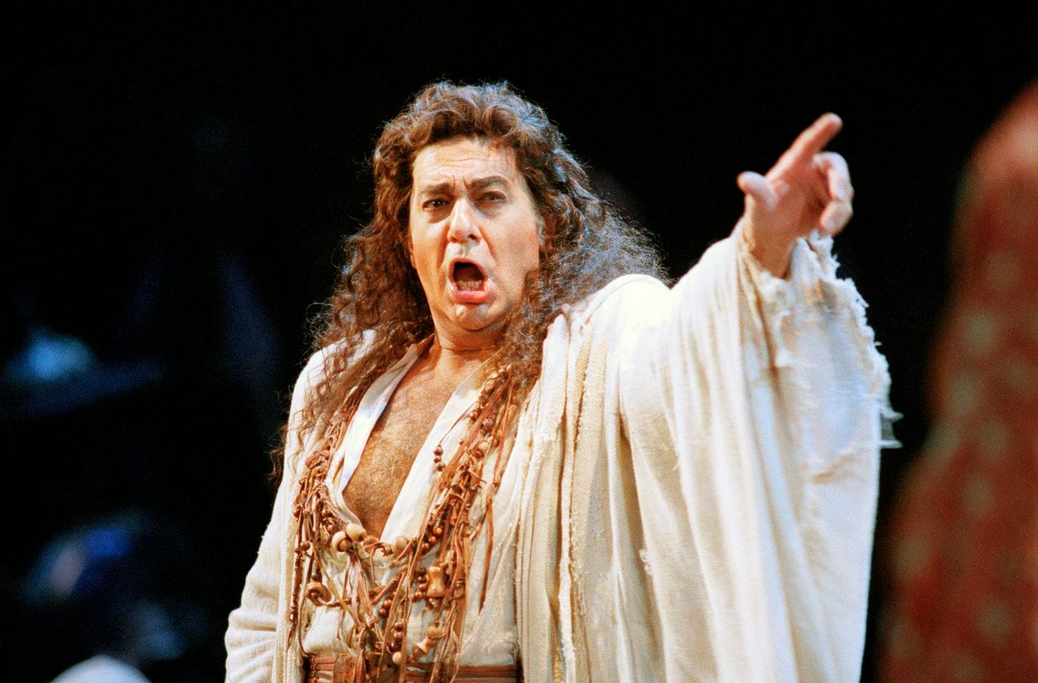 "Plácido Domingo performs in the San Francisco Opera's production of ""Herodiade"" in 1994. (Dwayne Newton/AP)"
