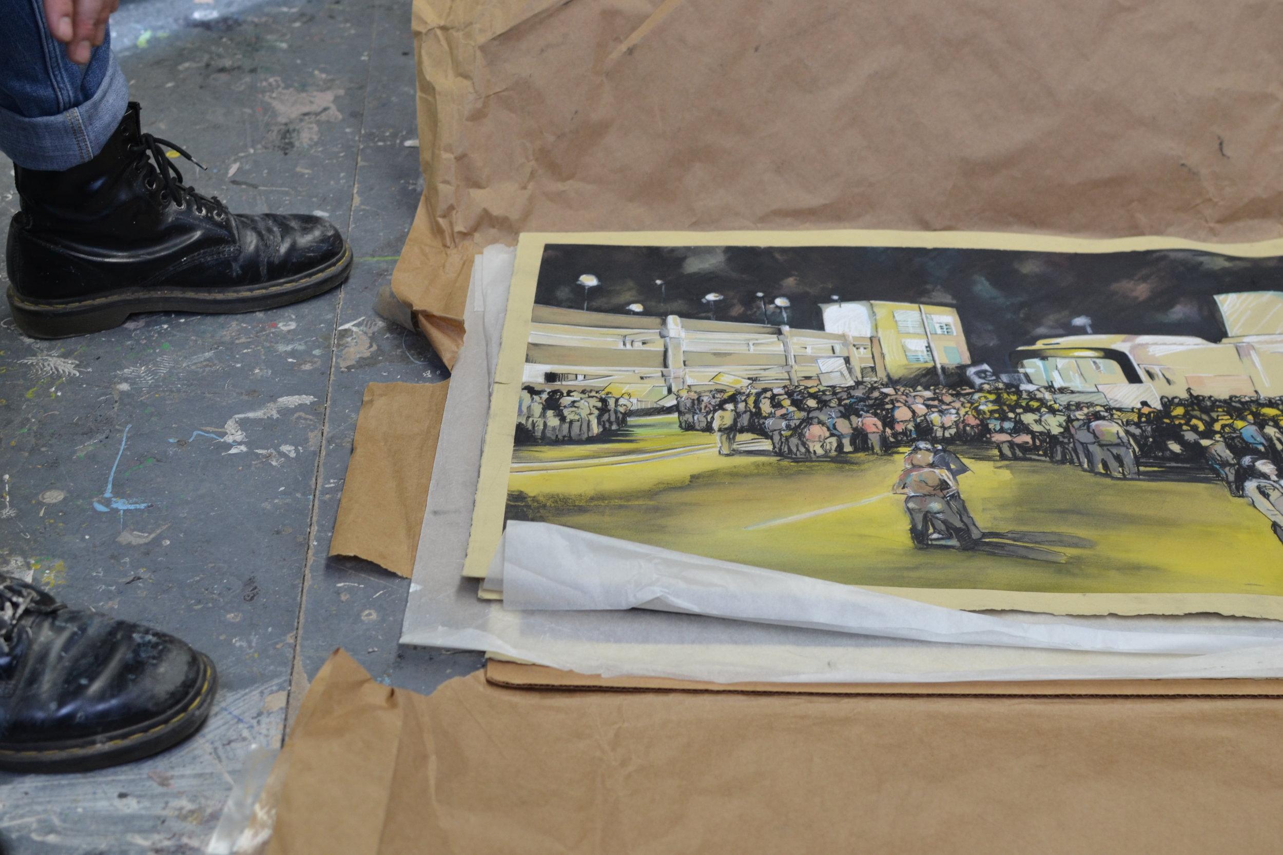 Mark Fitzsimmons Art Piece Denver Visual Artist Stain'd Arts