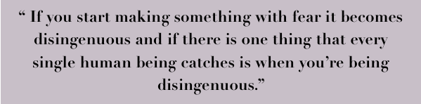 Quote from Artists Mark Fitzsimmons Stained Lit Magazine