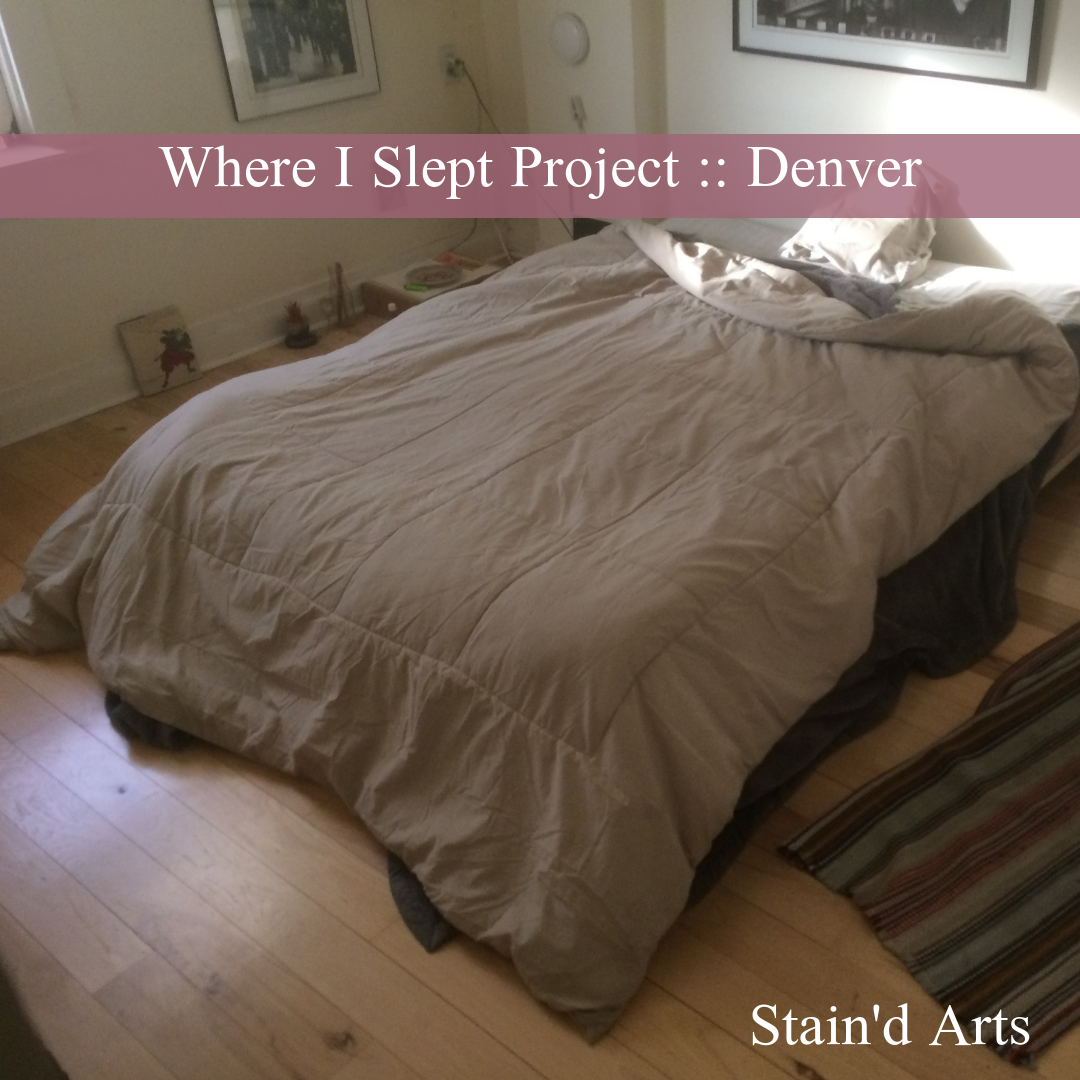 Stained arts where I slept project