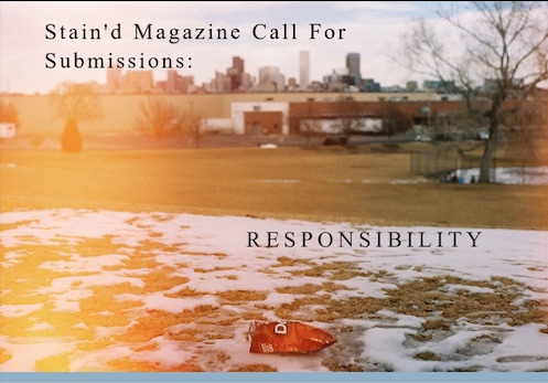Stain'd Arts print publication call for submissions