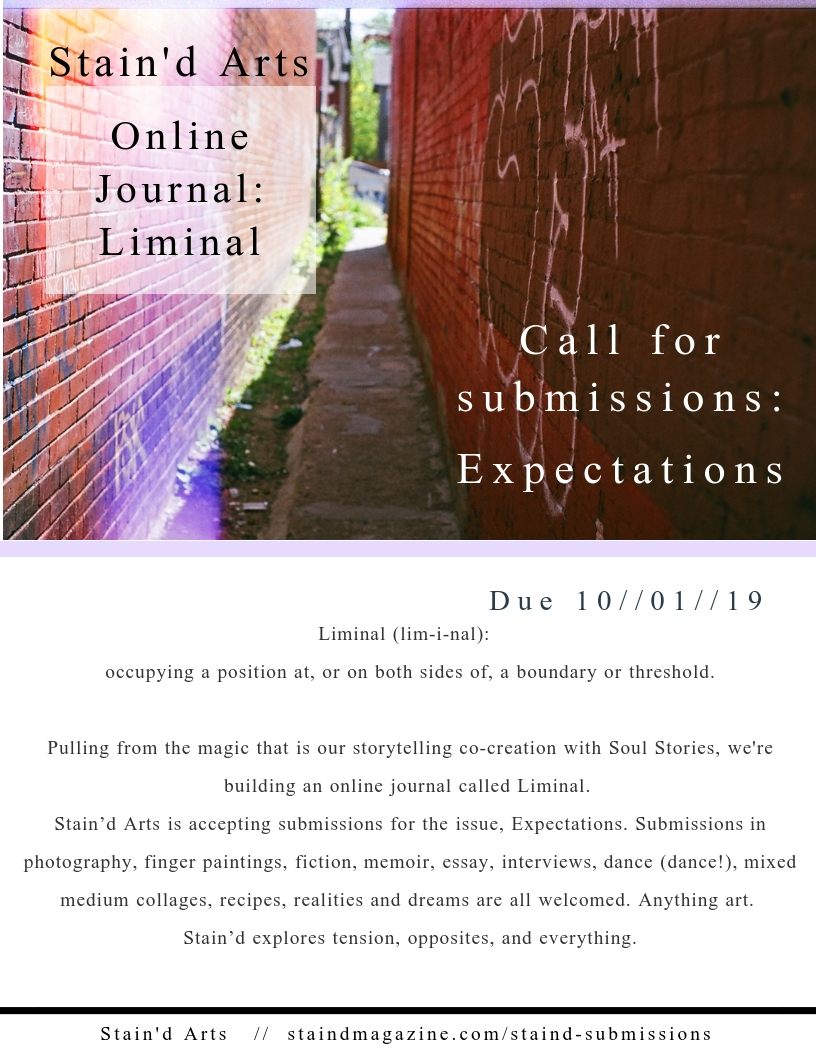 Call for art photography visual short stories Staind arts