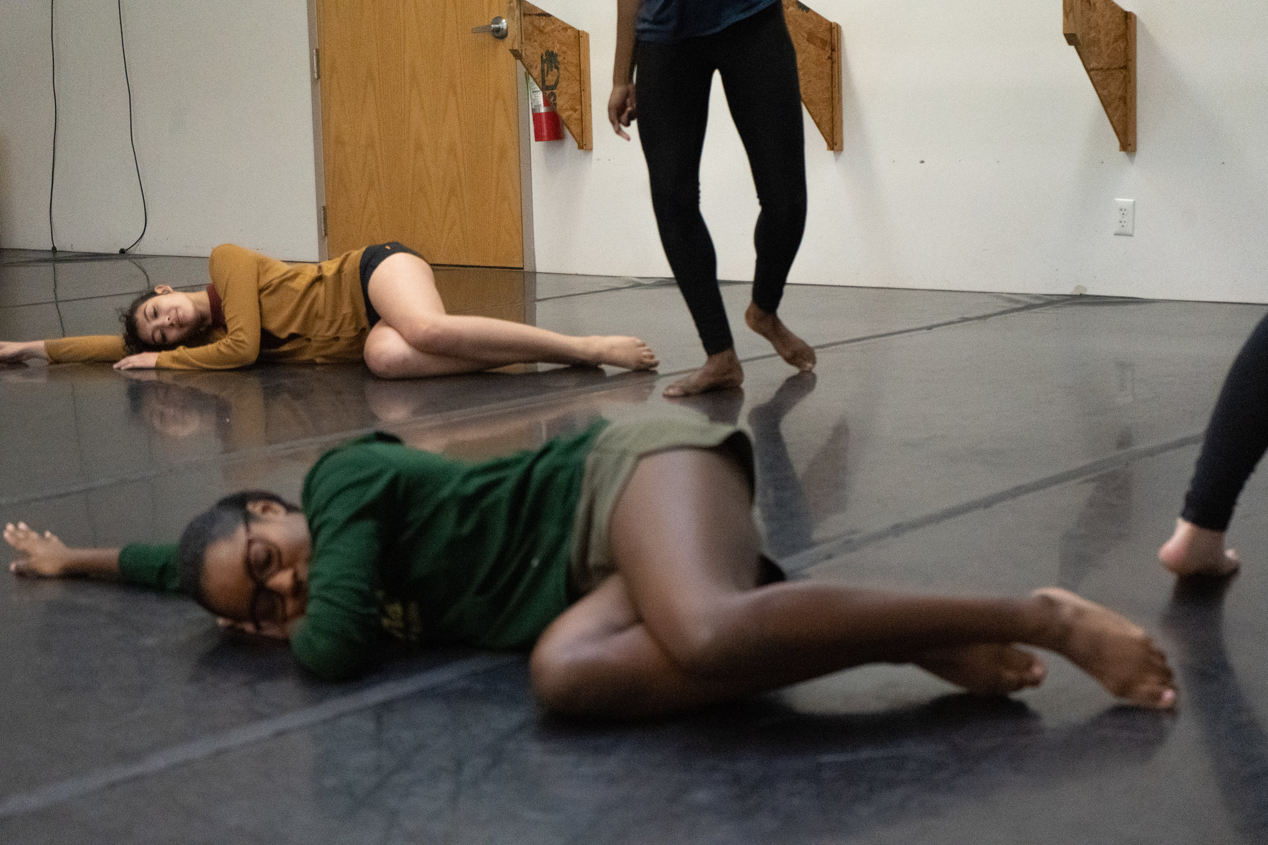 Emily Wallace Choreography at Stain'd Arts Movement Open Studios Photographer, Noah Kaplan