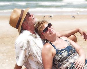 Rob Stiene Lorraine Berry ambersands creative amber sands ormond beach about