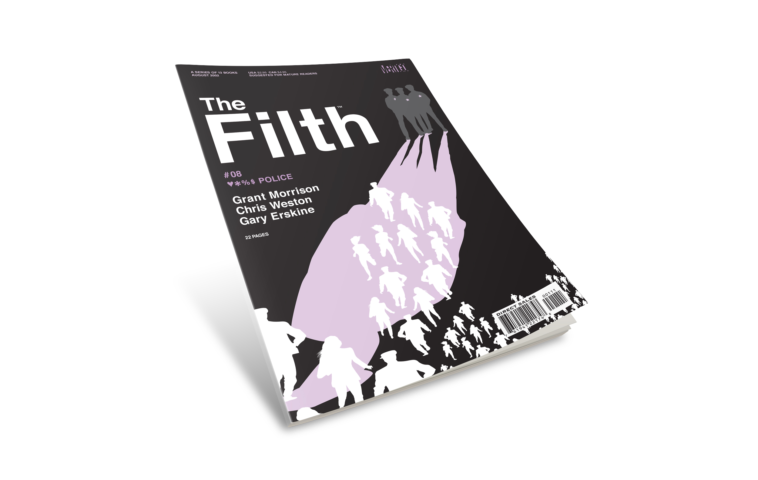 "Filth comic book cover #8. ""Fuck The Police""."