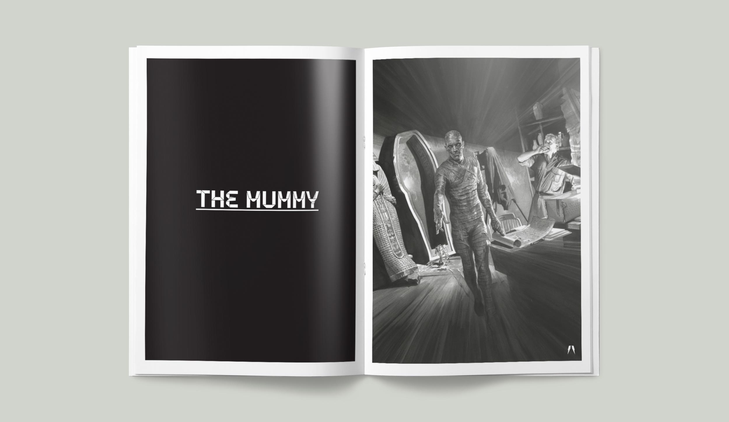 Universal Monsters. The Mummy