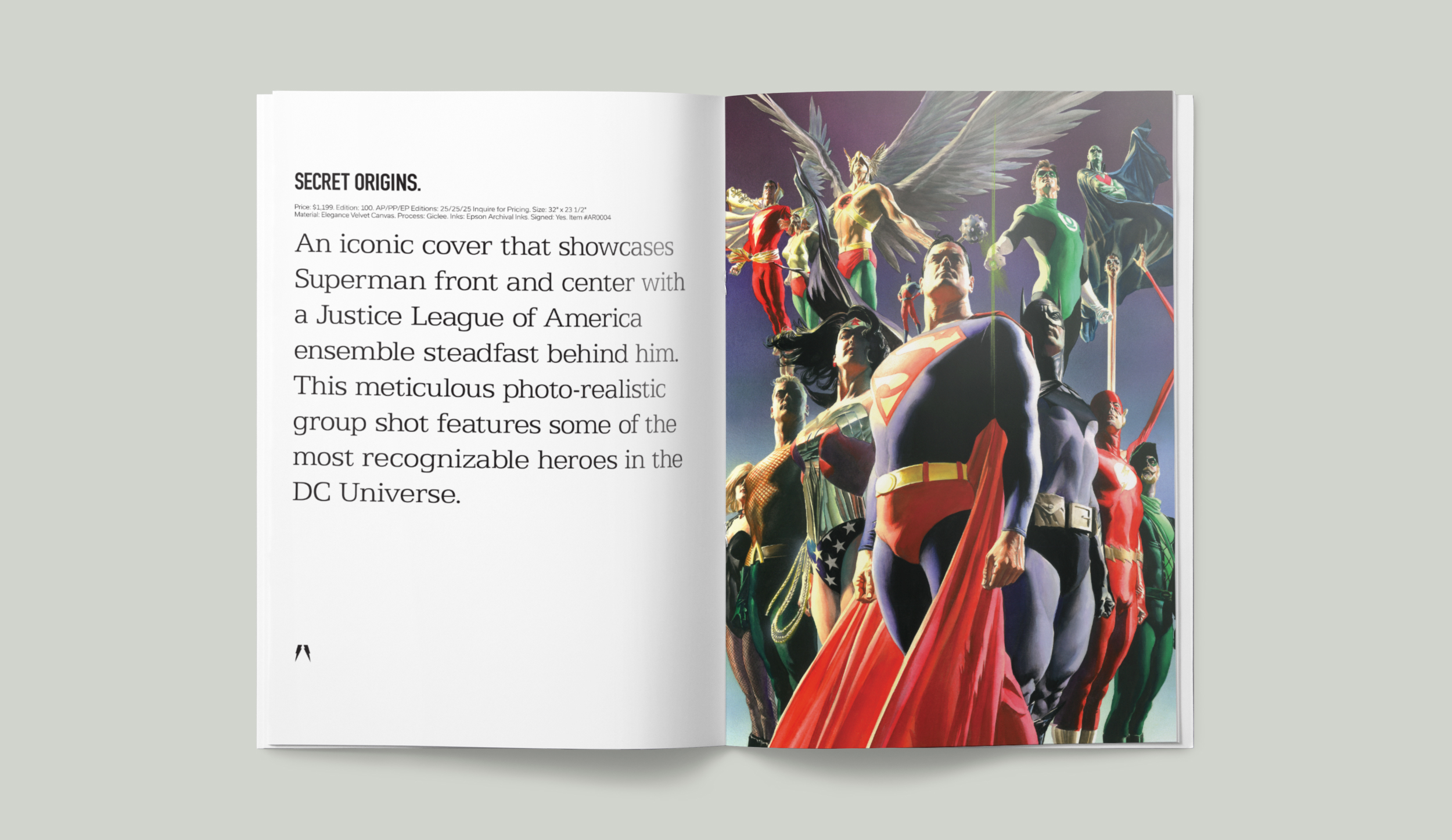 DC Comics. Secret Origins.