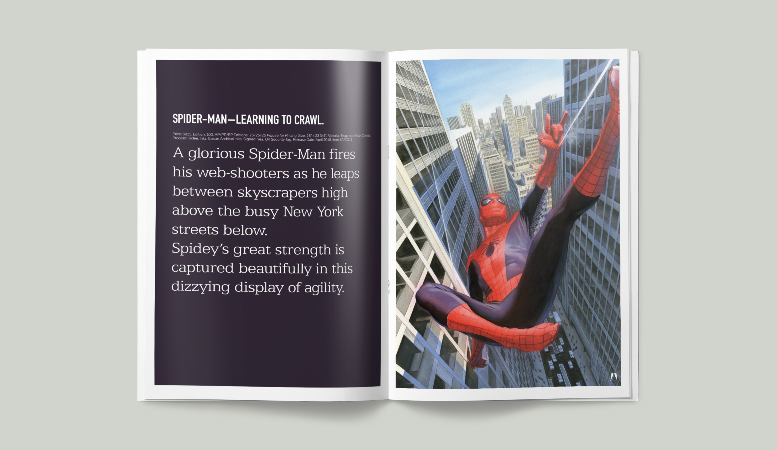 Marvel. Spiderman - Learning to Crawl.