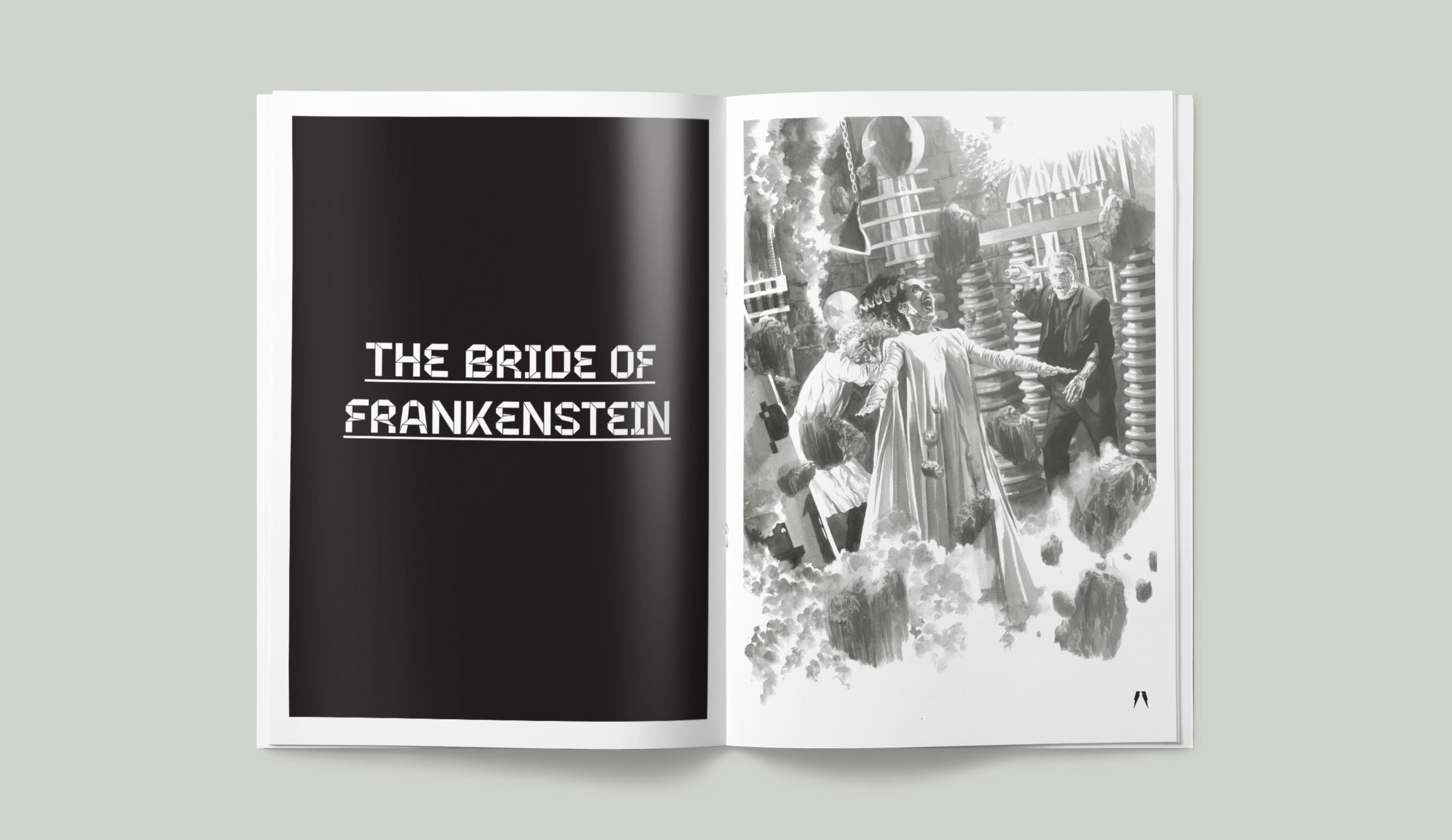 Universal Monsters. The Bride of Frankenstein.