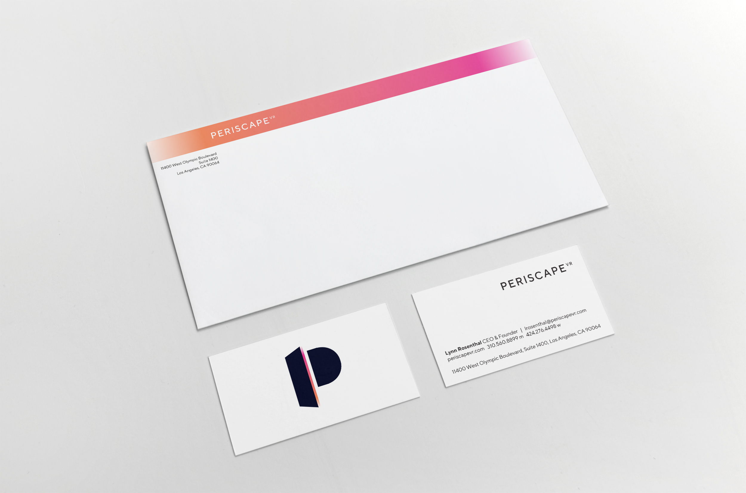 LYNN ROSENTHAL - ENVELOPE AND FRONT AND BACK OF OPTIONAL BUSINESS CARD (DESIGN)