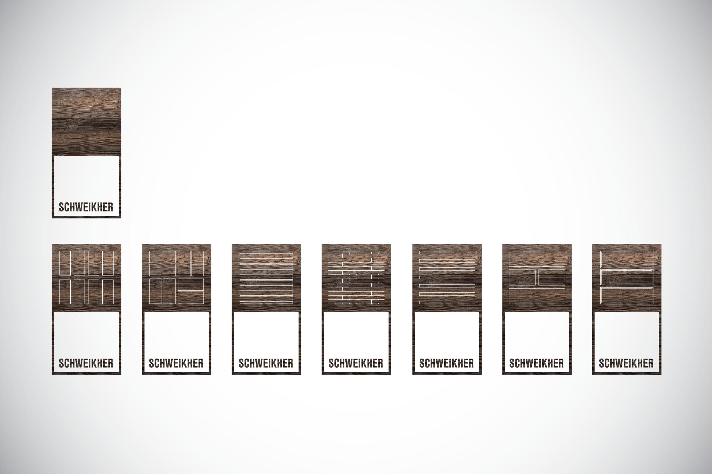 SCHWEIKHER - EXPLORATION #6  - logotype series