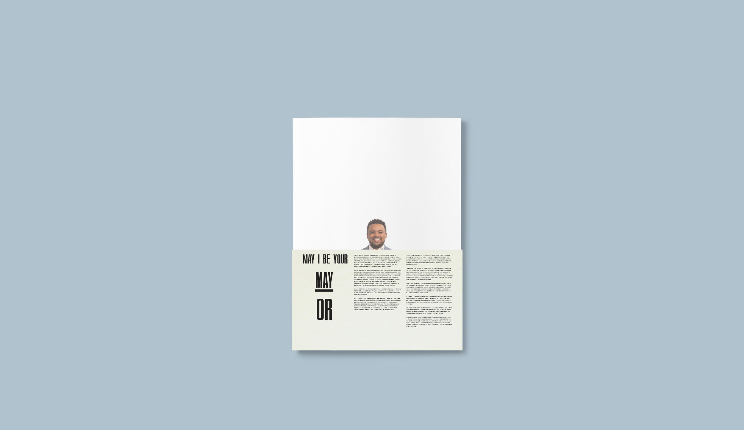 Campaign Prospectus cover (with slipcase)