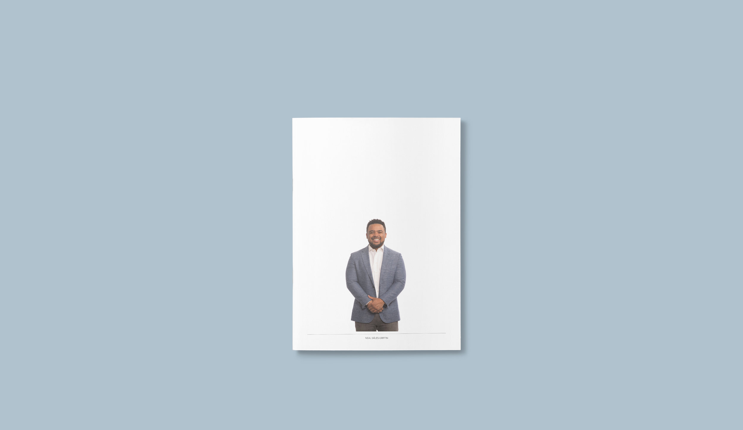 Campaign Prospectus cover (with slipcase removed to reveal the man)