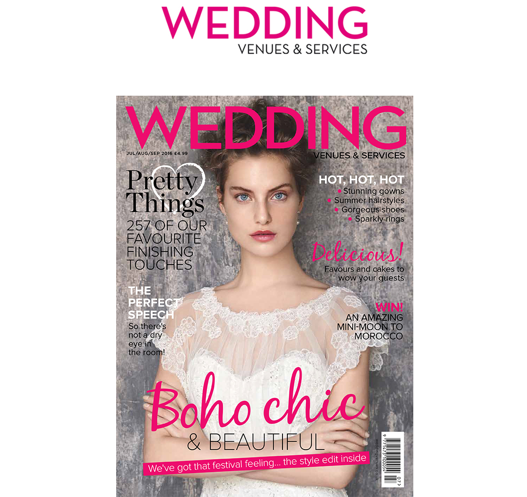 Wedding Venues & Services, July August September 2016 magazine issue