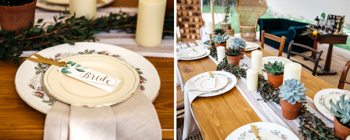 Eucalyptus    collection | Photography by    Chloe Lee    | Vintage prop hire    Brown Birds