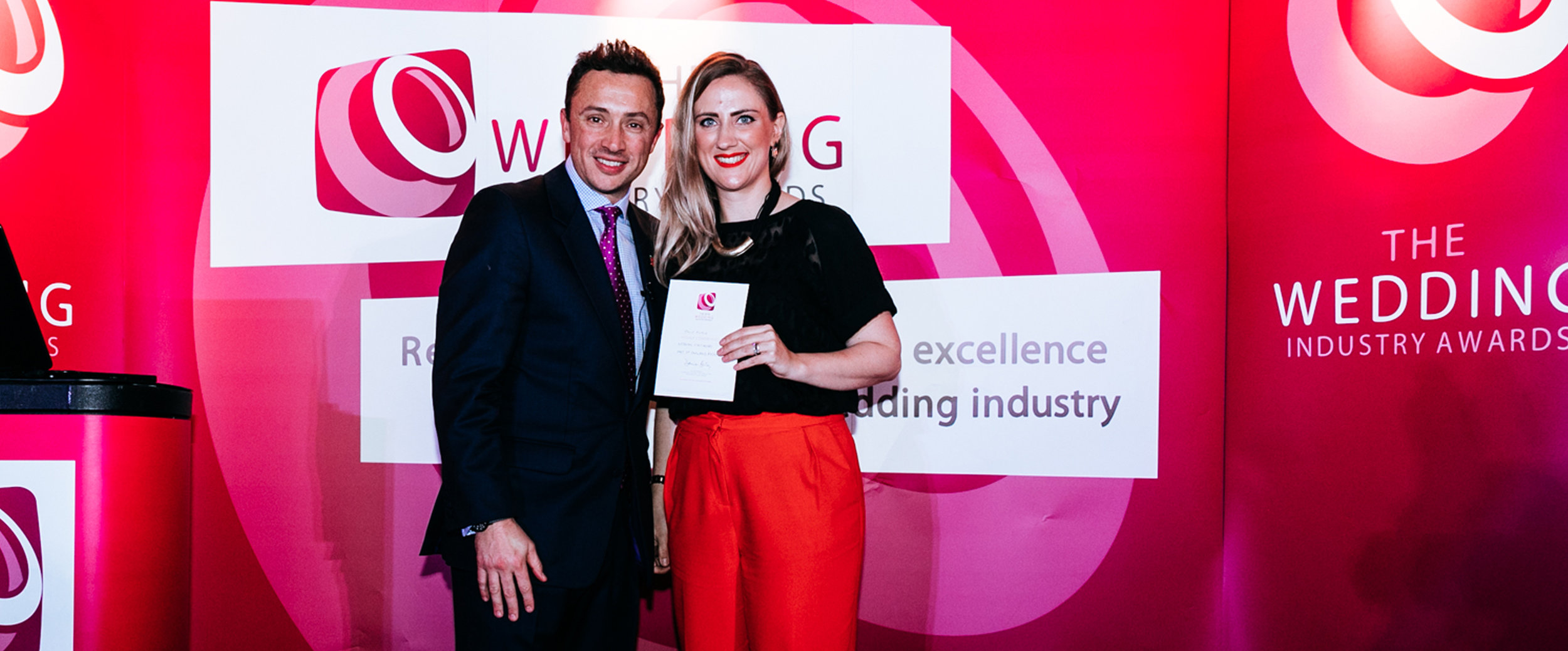 High Commended 'Stationery' for East of England at   The Wedding Industry Awards 2018
