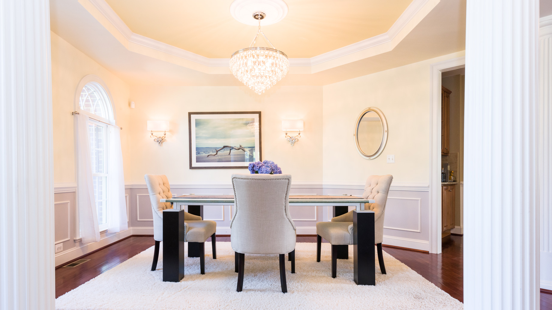 Dining Room by McGrath Interiors