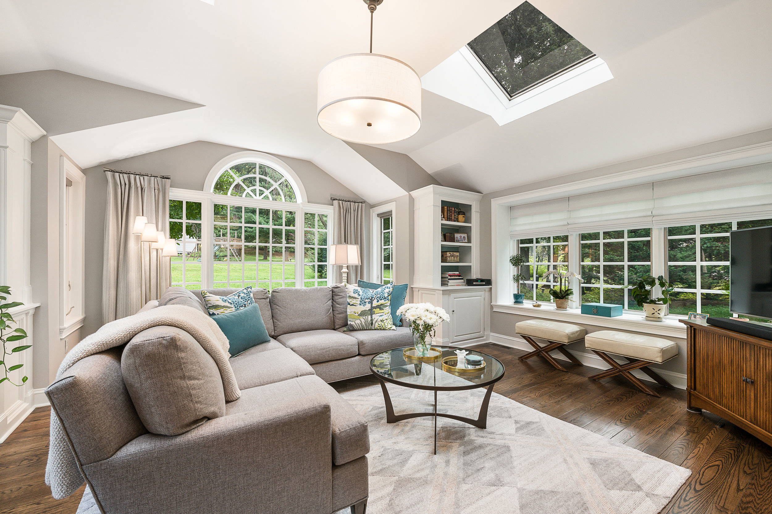 Family Room by McGrath Interiors