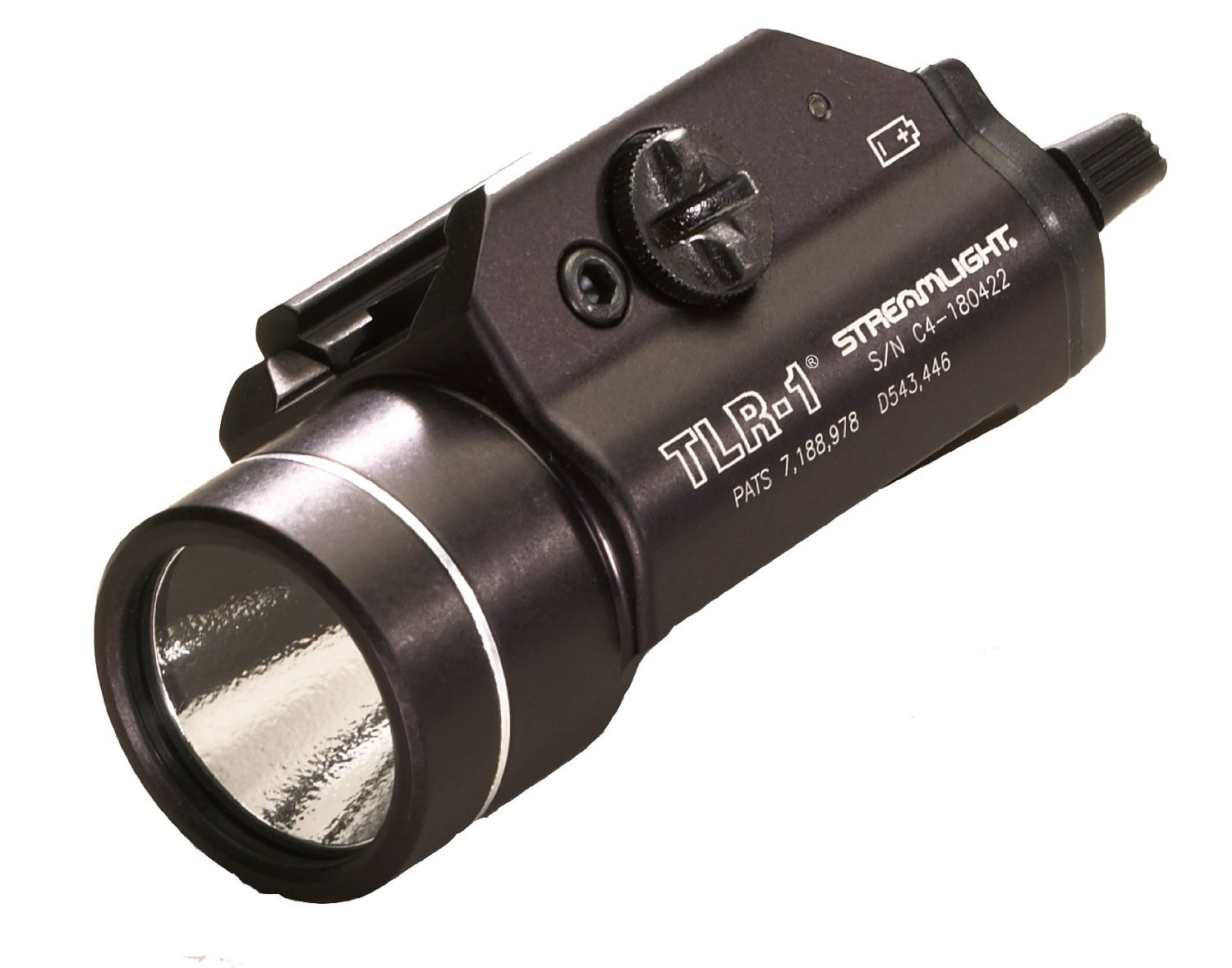 Mount this to your sidearm or patrol rifle and you'll always have enough light to get the job done.