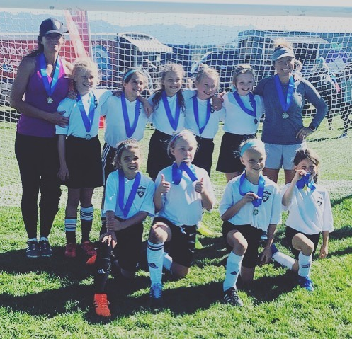 Our Rapids U10 Academy girls bringing home some hardware from the Tamarack Tournament last weekend. Well done ladies!!