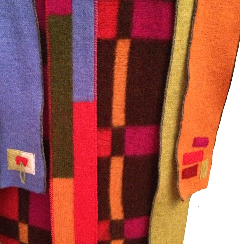 A Collage of Cashmere Color......