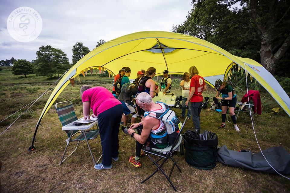 Looking after people in our running event
