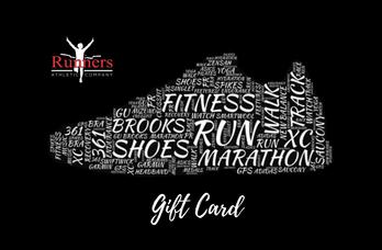 running shoe gift card