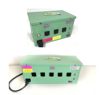 3-outlet and 5-outlet Relay Boxes