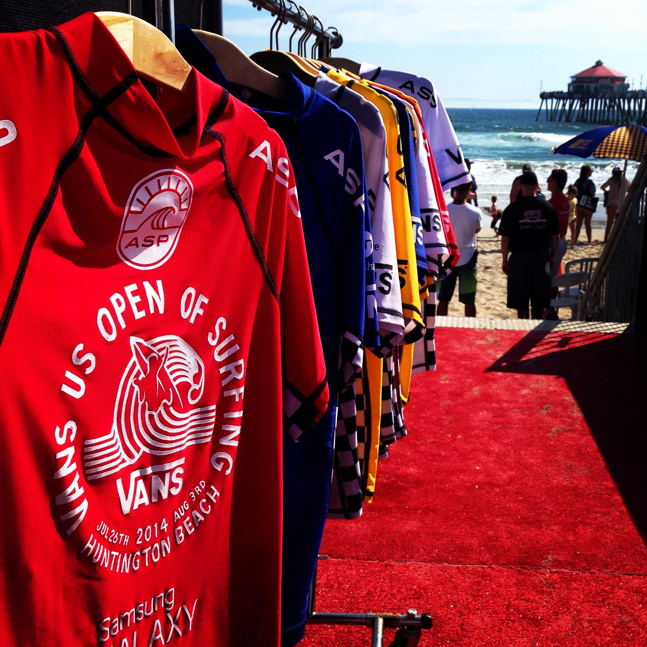 US Open of Surfing 2014 Jerseys