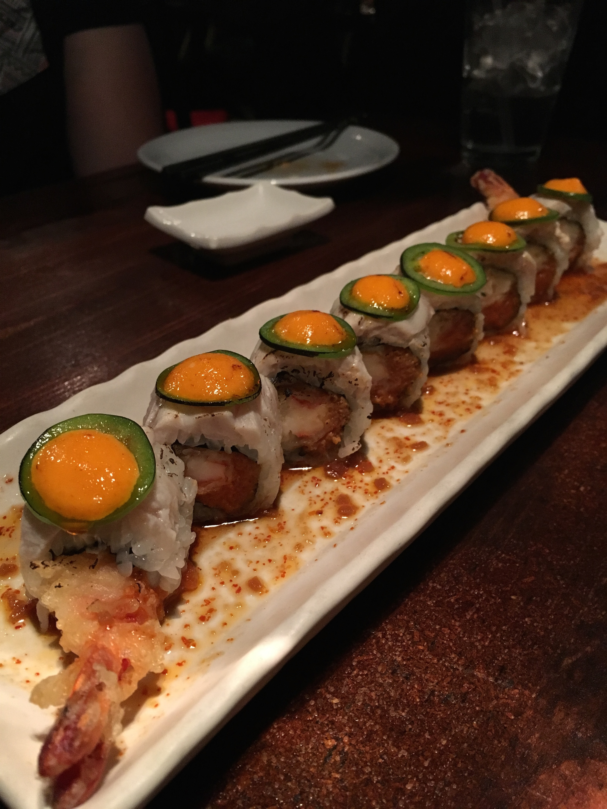 The best sushi in Vegas at The Naked Fish's