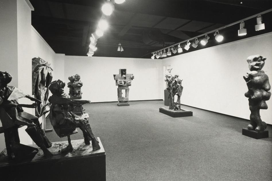 Fairweather-Hardin Gallery. Chicago show, 1970