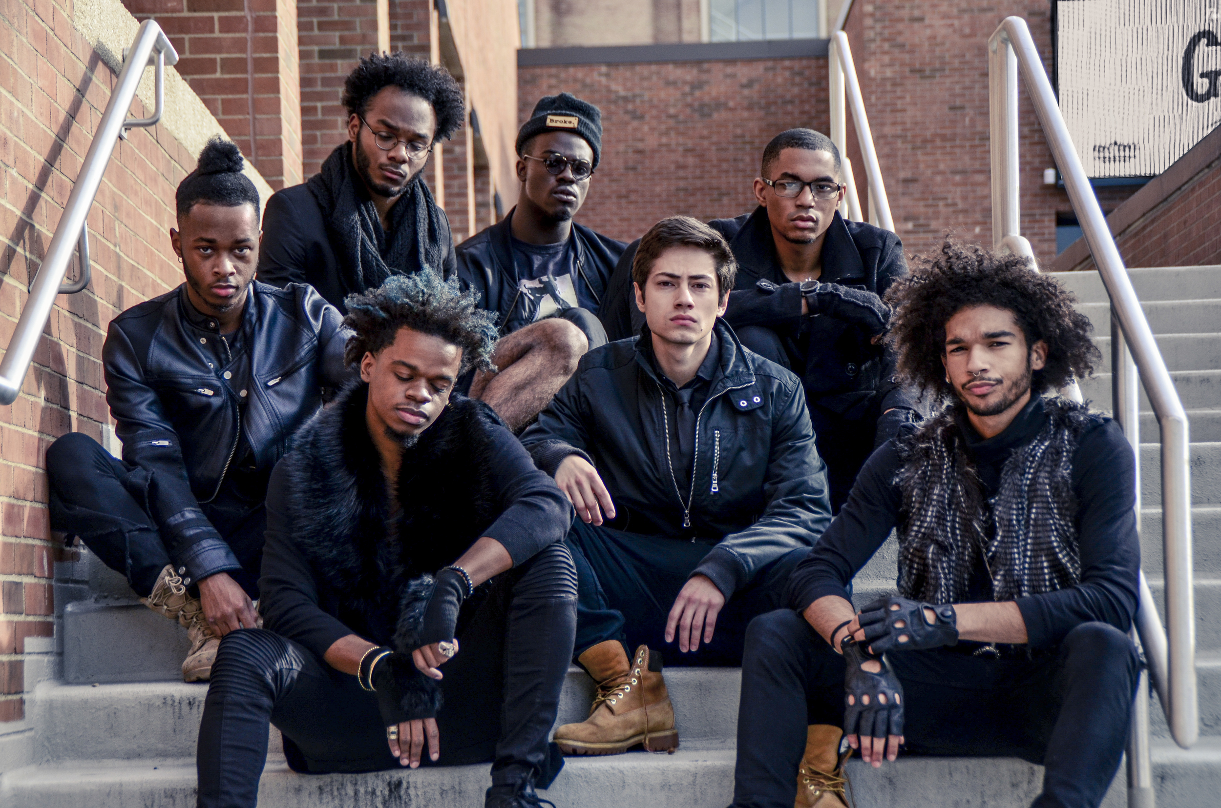 December 2015 - Tre Planes, Austin Coats, Jowan Cole, Courion Williams, Isaac Korb, Trevor Lee, and yours truly.