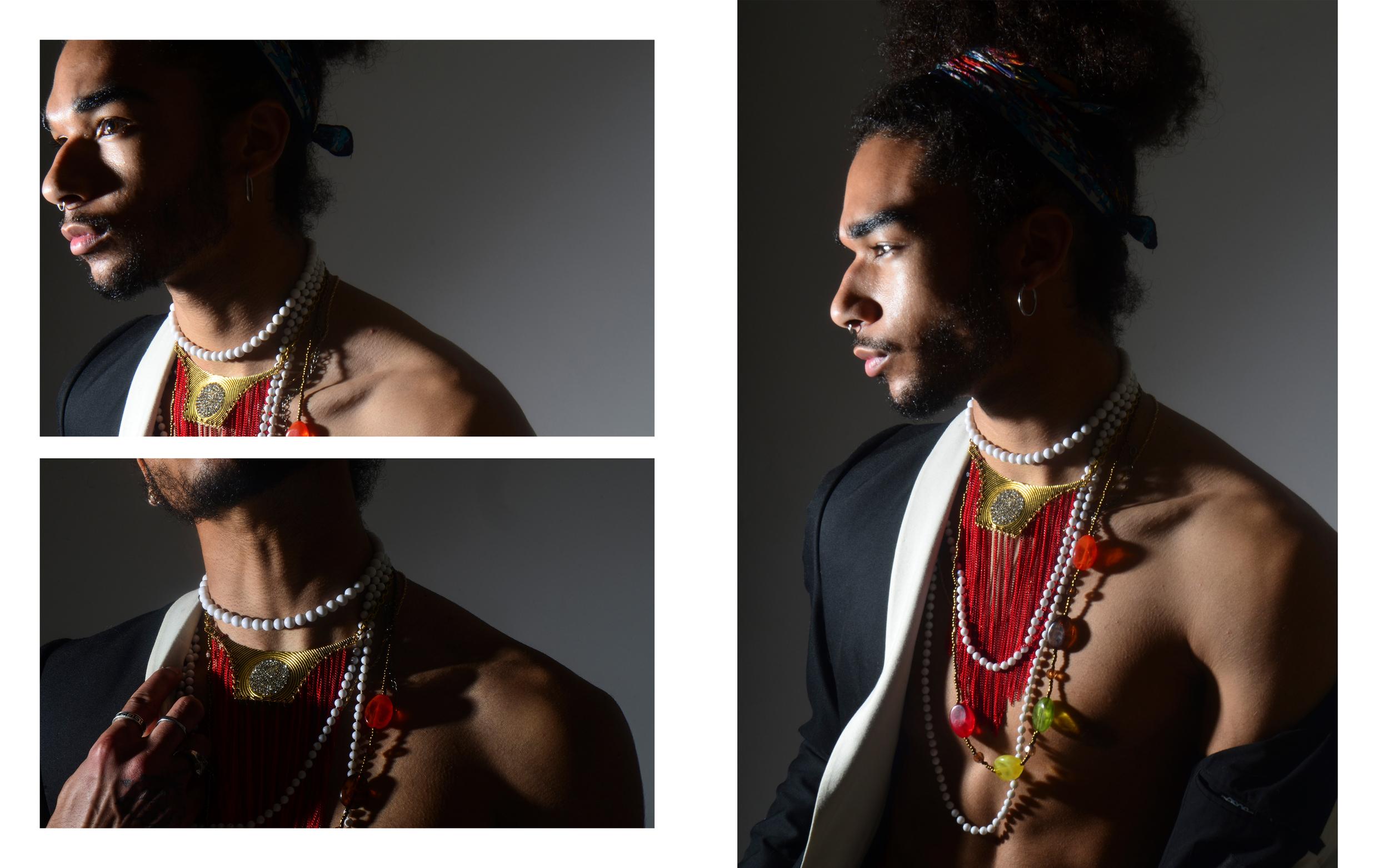 Blazer | ASOS ( asos.com ) - Jewelry | assortment from Amazon and Einstein's Attic ( Einstein's Attic )