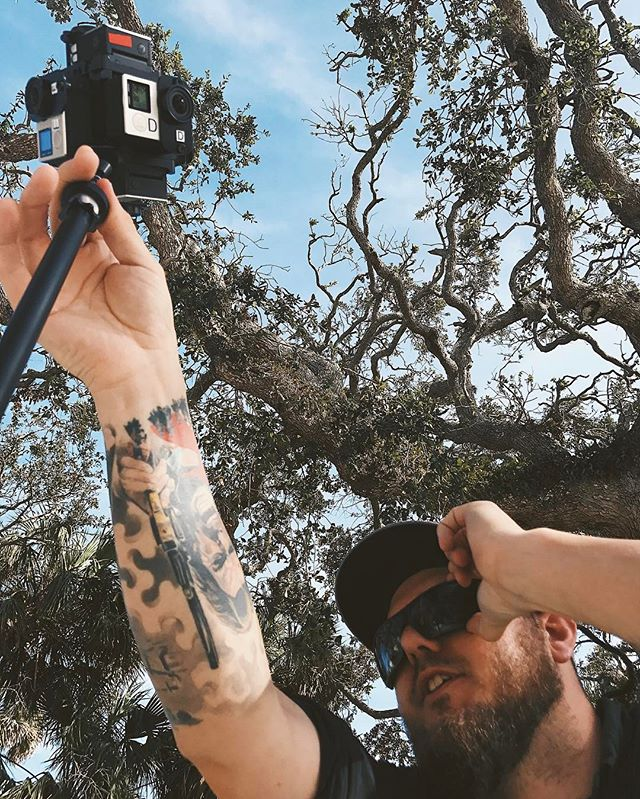 🎥Always working🎥 We can't wait to share all the footage we've collected while exploring FL! . . . . . . #VR #vr360 #virtualreality #videography #cameraassistant #cameradept #dronelife #1stac #drone #drones #droner #setlife #setlifela #cinematography #dronemultimedia #gopro #goprohero5 #smallhd #dji #djiosmo #inspire1 #inspire2 #travel #teradek #tourism #florida #eastcoast #mothershipimaging #reddragon #arri
