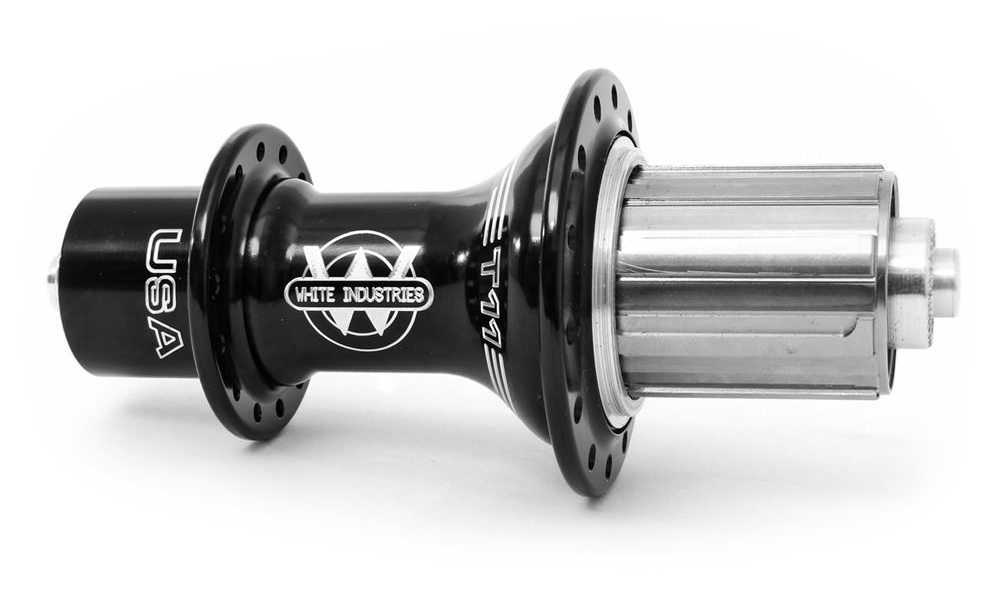 White Industries T11 hubs.