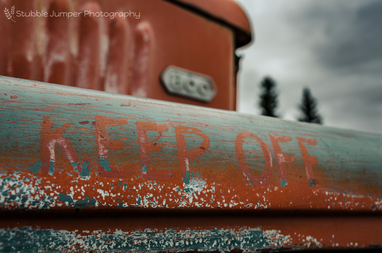 "Dodge LCF ""Keep Off"""