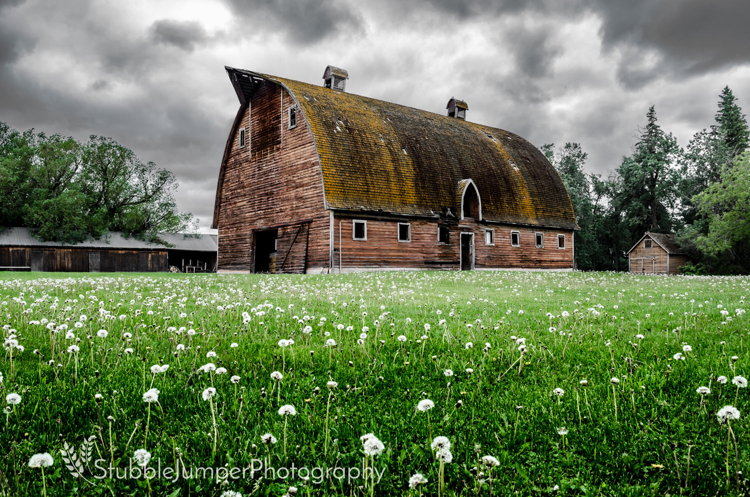Brothers Gothic Arch Barn