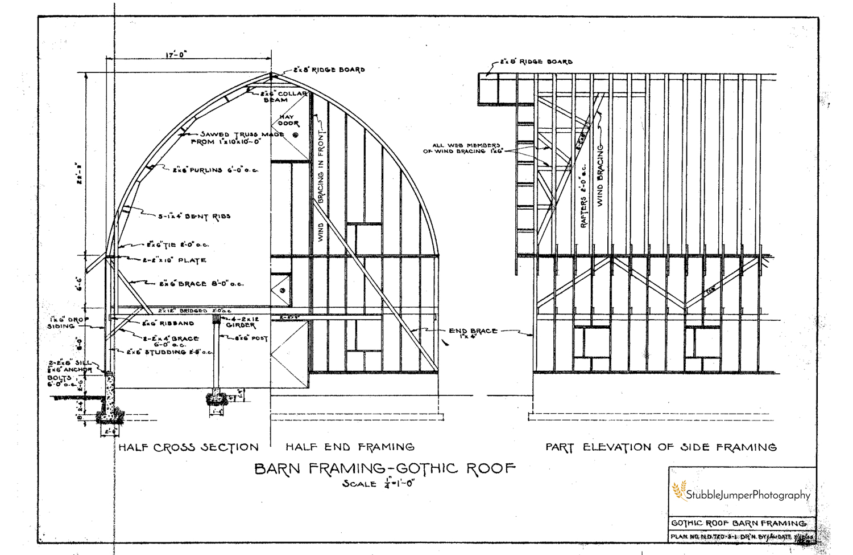 Gothic Arch Building Plans