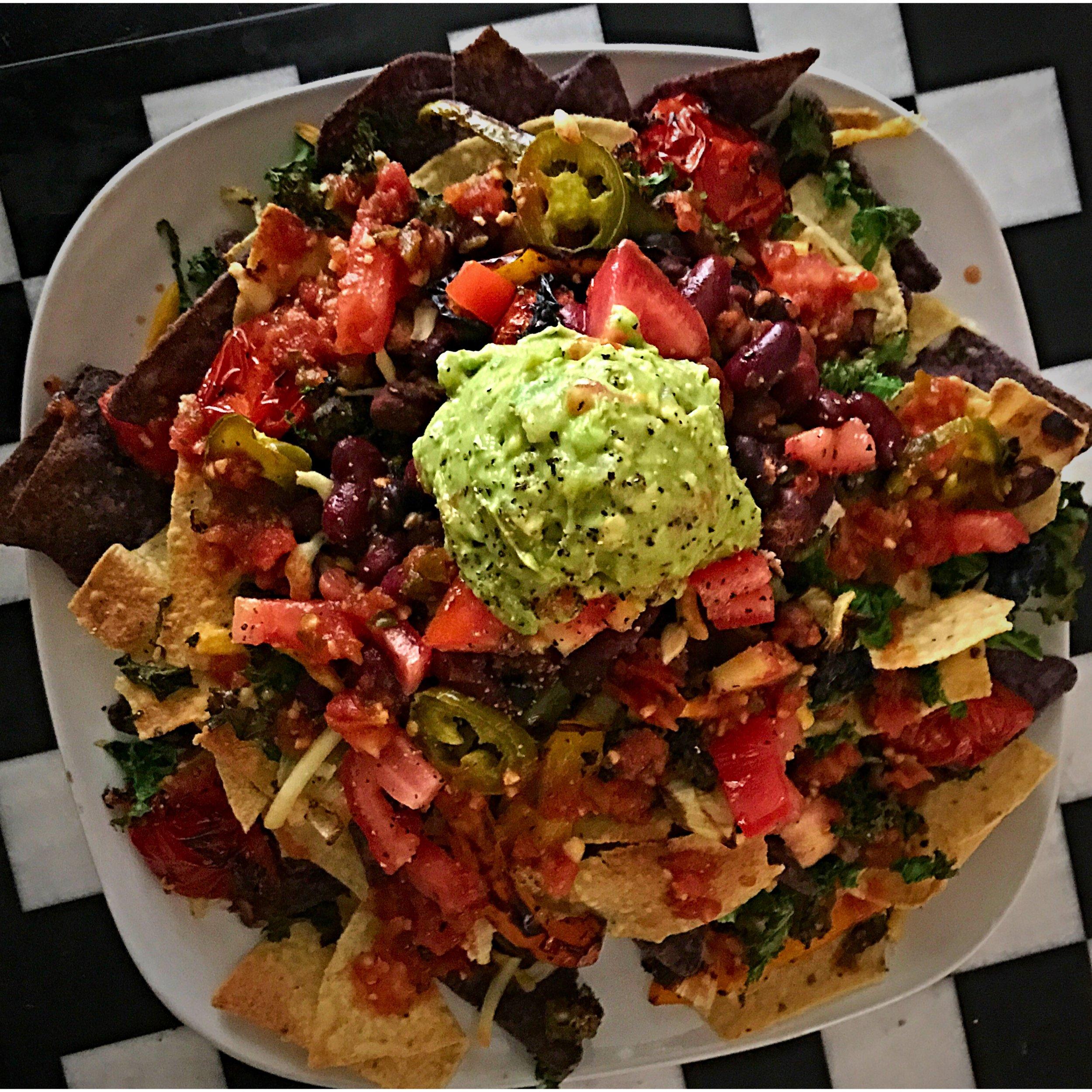 Vegan Nachos w/ Guac