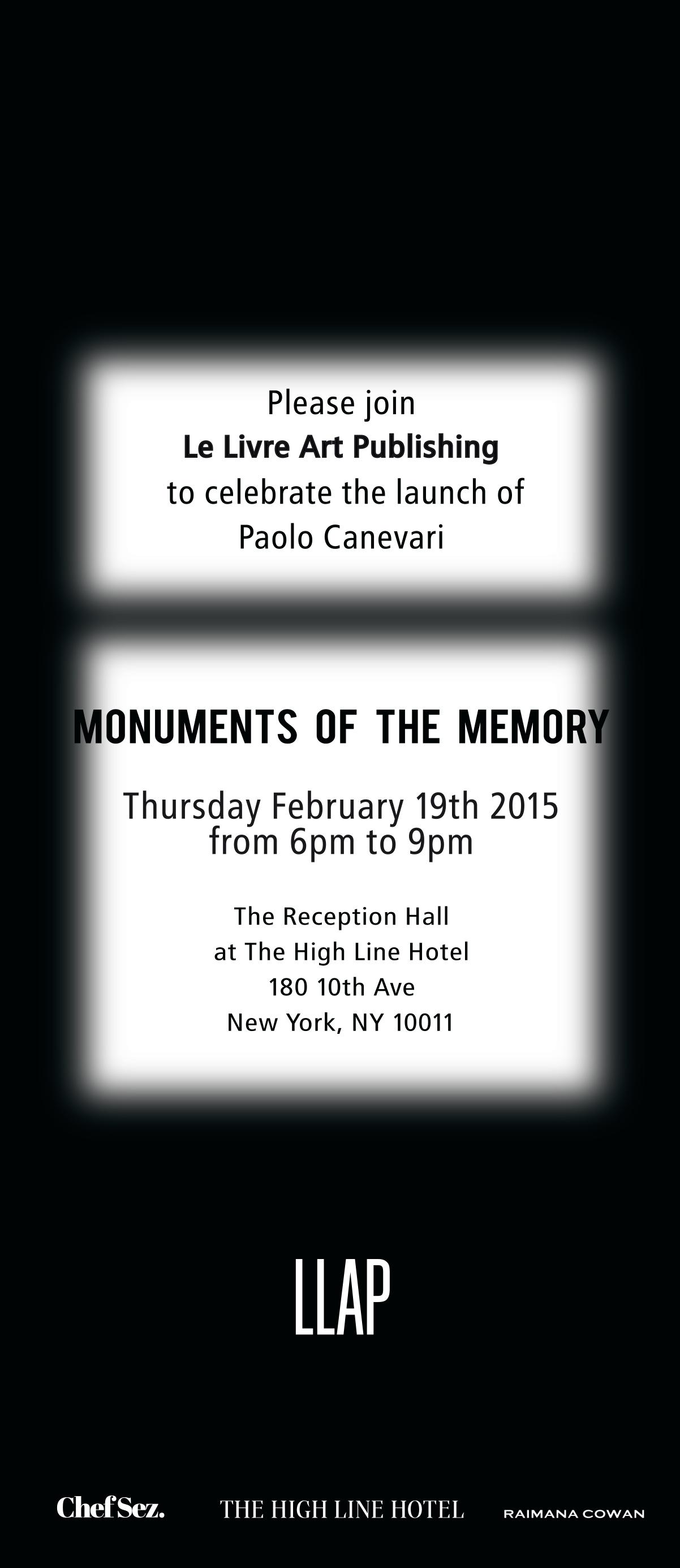Invitation, The High Line Hotel