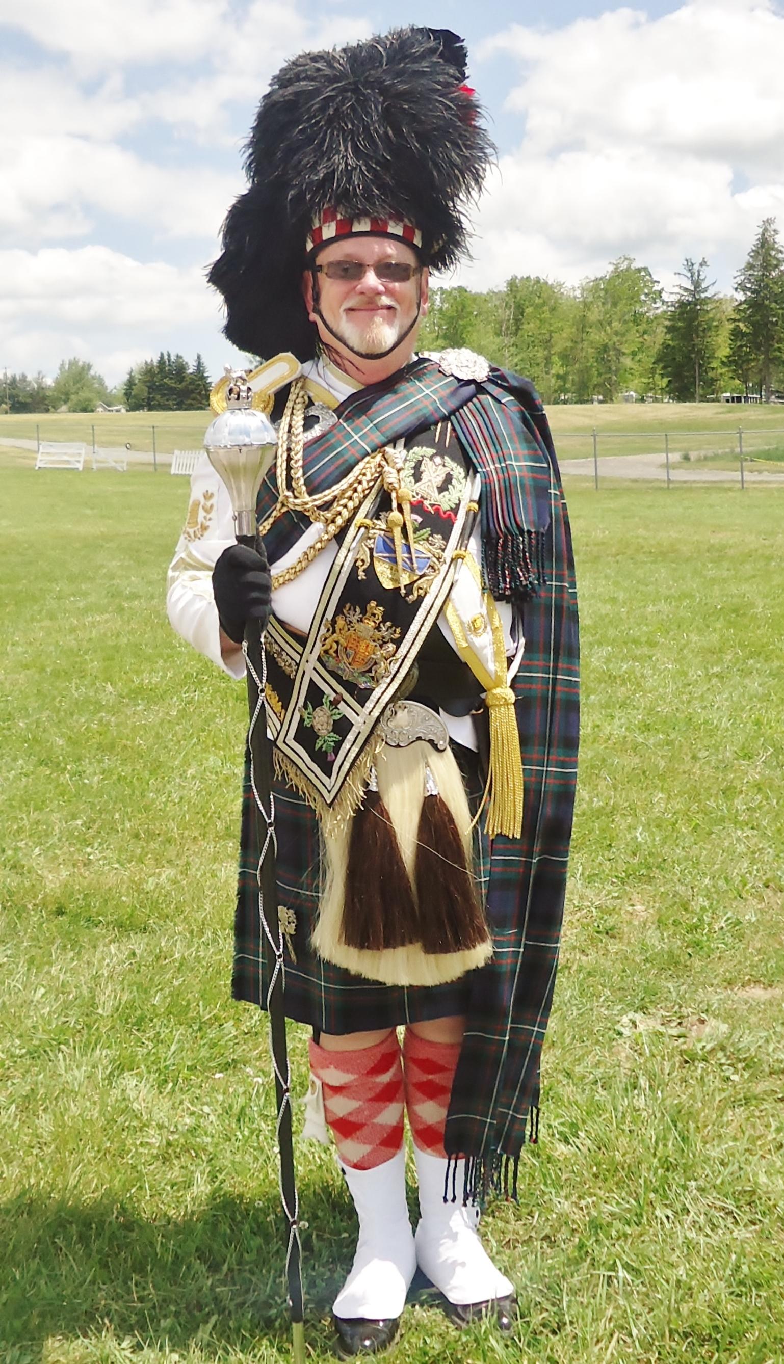 Honorary Drum Major Mitchell