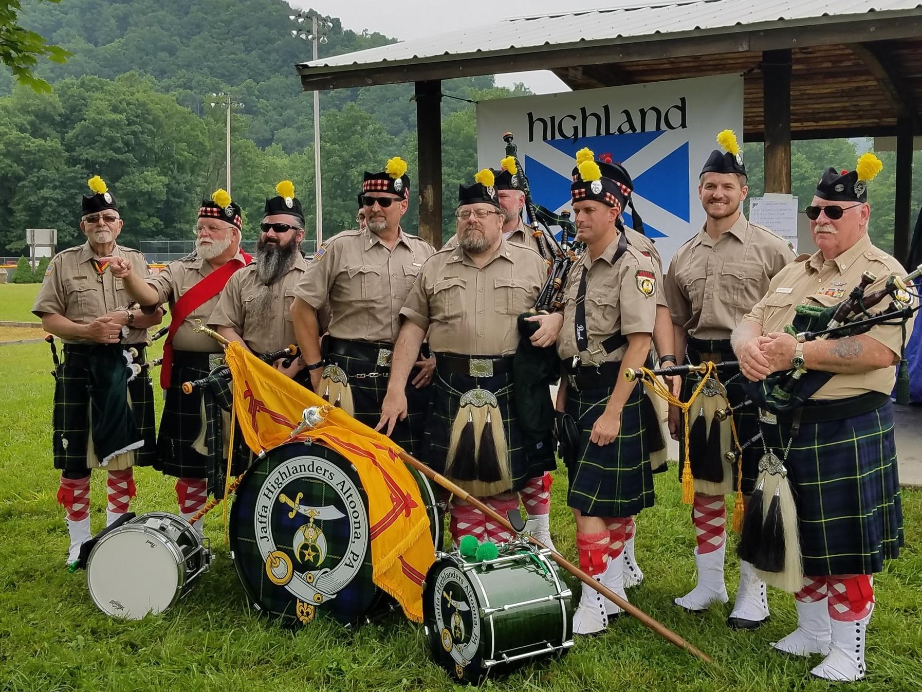 Jaffa Highlanders, Altoona, PA