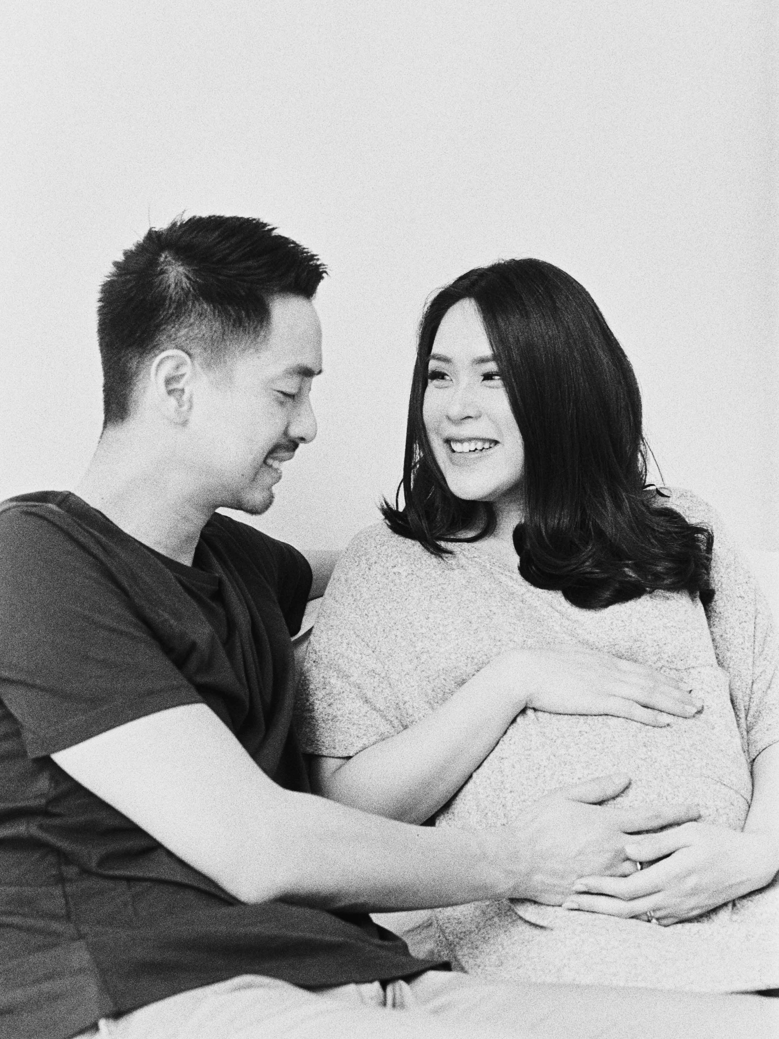 Gaby and Tim-Relaxed-Airy-Simple-Maternity Portrait Photoshoot-At Home-Jakarta-Studio June-Film Photography & Styling-7.jpg