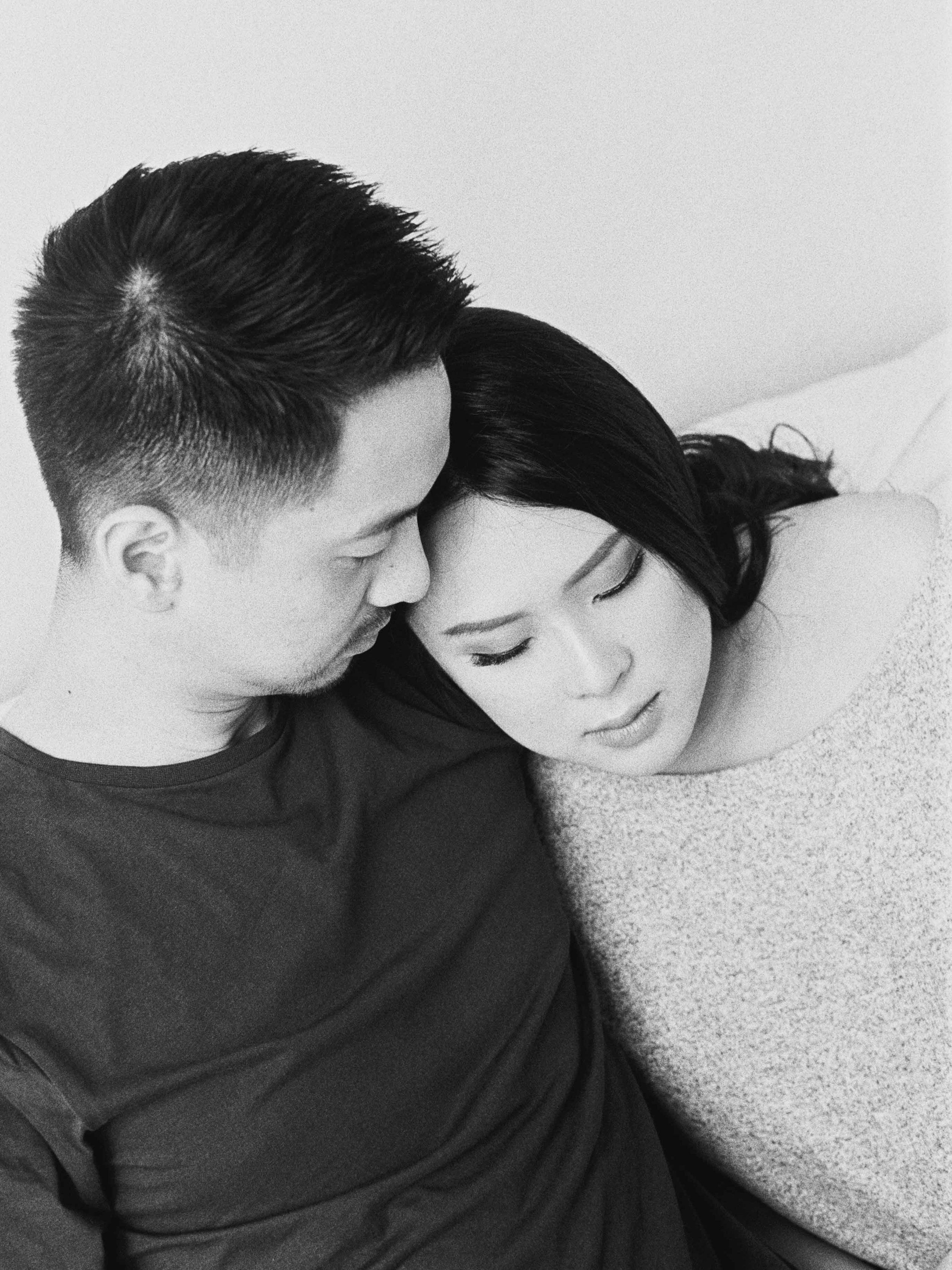 Gaby and Tim-Relaxed-Airy-Simple-Maternity Portrait Photoshoot-At Home-Jakarta-Studio June-Film Photography & Styling-11.jpg
